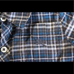 Burberry Shirts & Tops - BURBERRY Baby Boy Button Down Shirt 3m